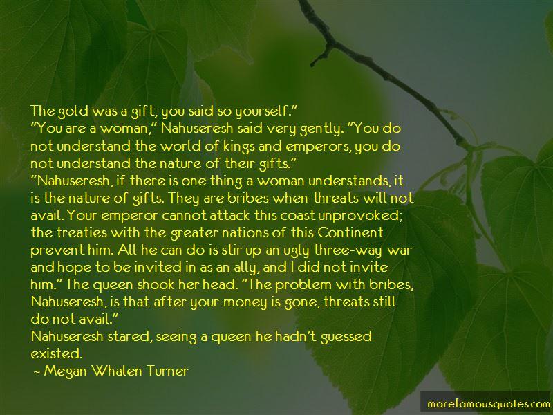 Megan Whalen Turner Quotes
