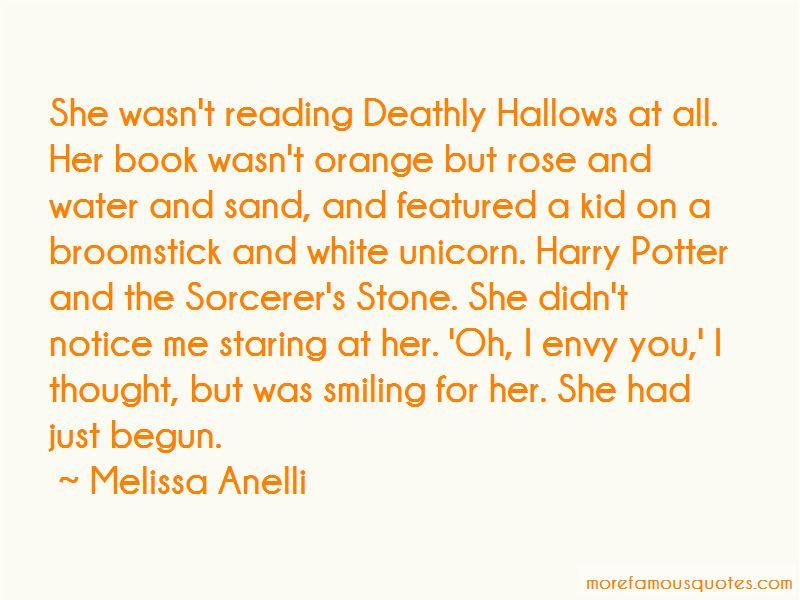 Melissa Anelli Quotes
