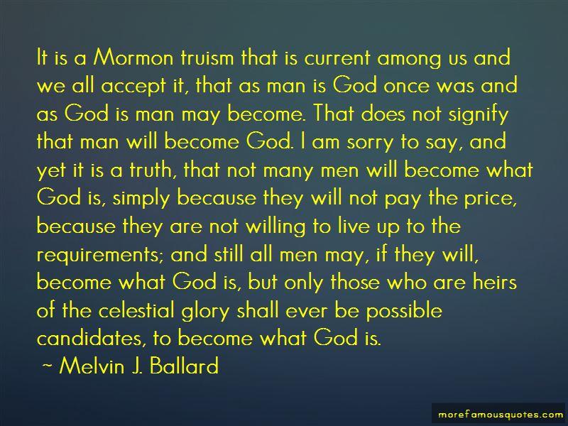 Melvin J. Ballard Quotes Pictures 3