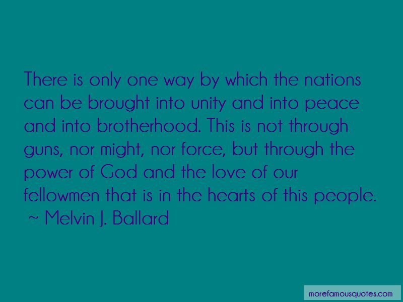 Melvin J. Ballard Quotes