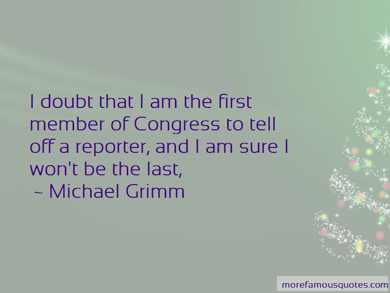 Michael Grimm Quotes Pictures 2
