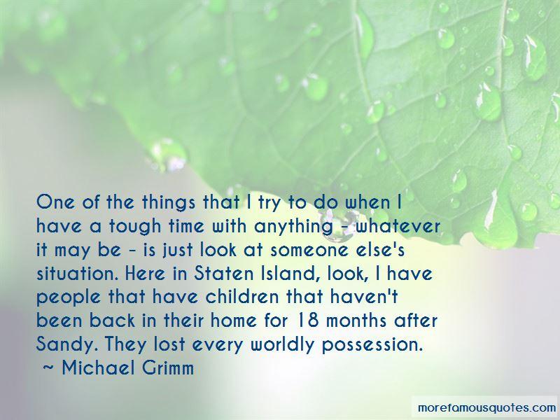 Michael Grimm Quotes Pictures 3