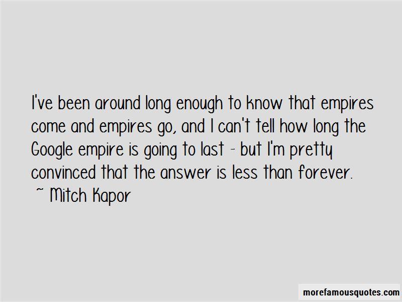 Mitch Kapor Quotes Pictures 2