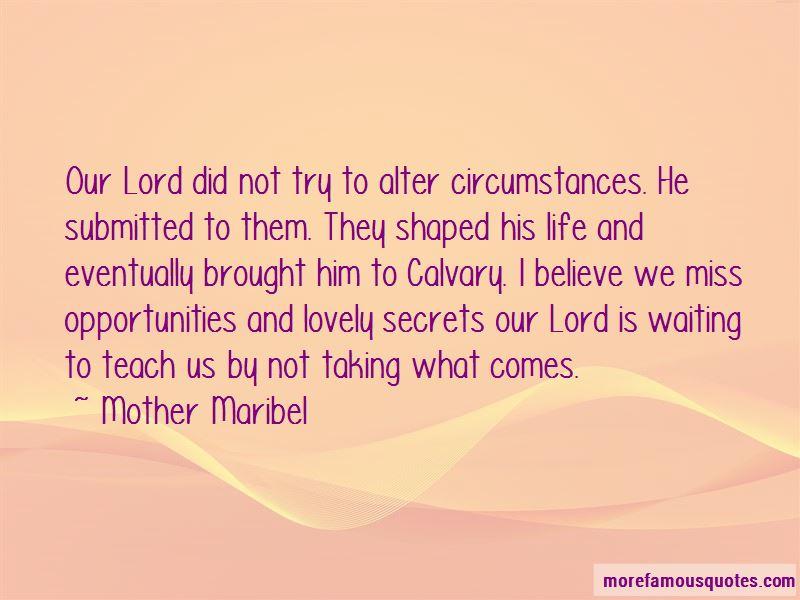 Mother Maribel Quotes Pictures 2