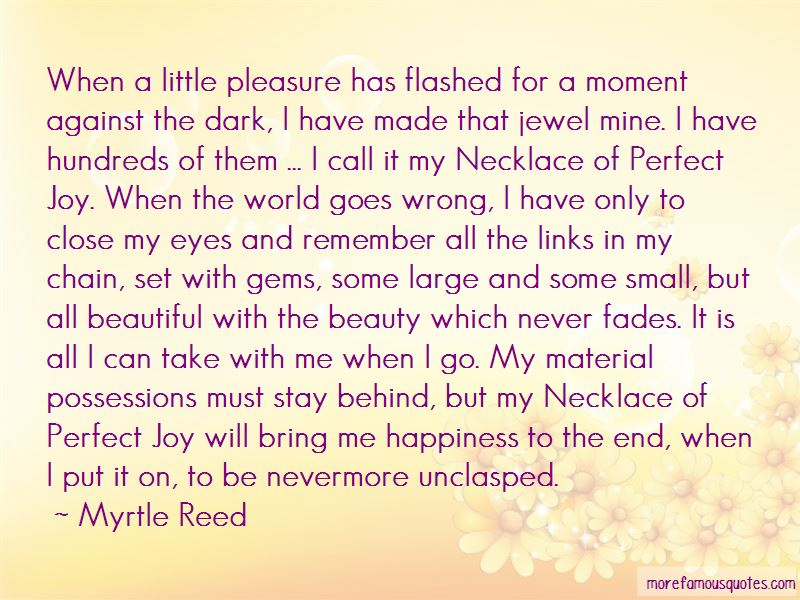 Myrtle Reed Quotes