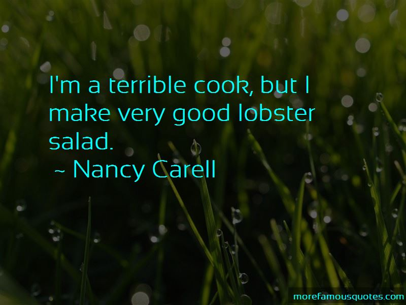 Nancy Carell Quotes