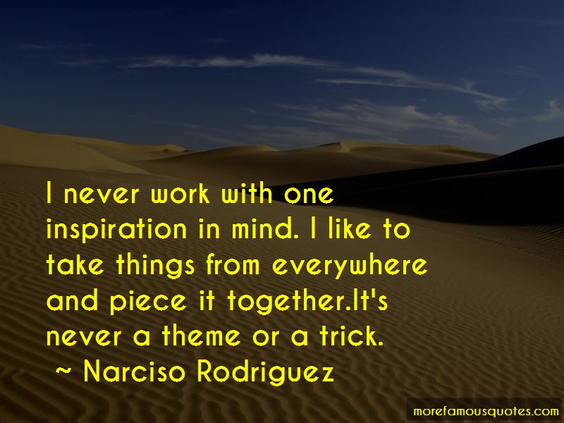 Narciso Rodriguez Quotes Pictures 3