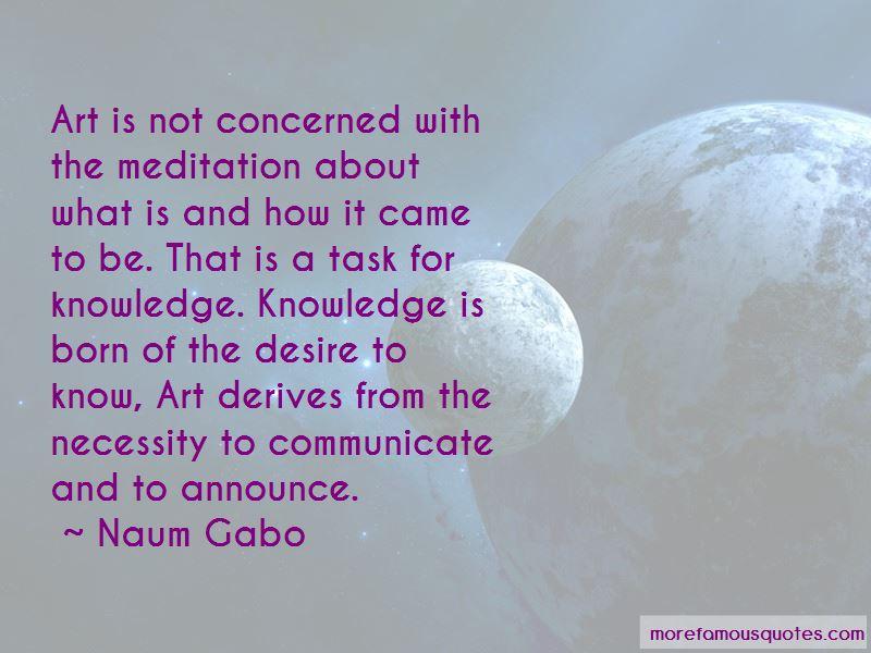 Naum Gabo Quotes