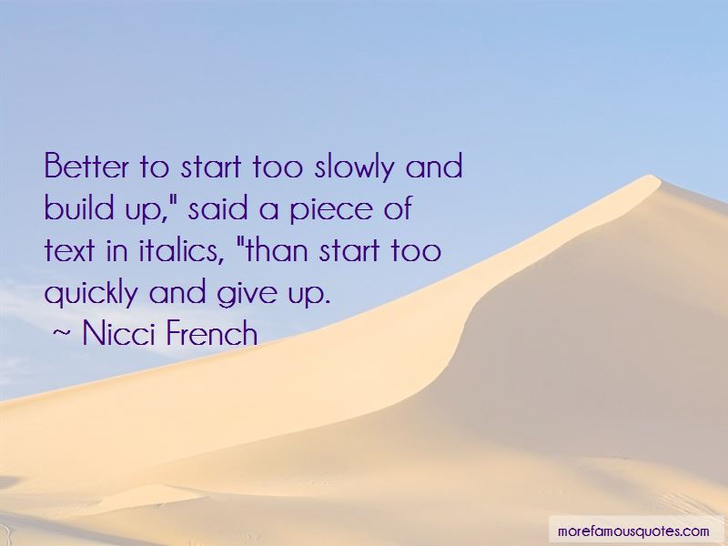Nicci French Quotes Pictures 2