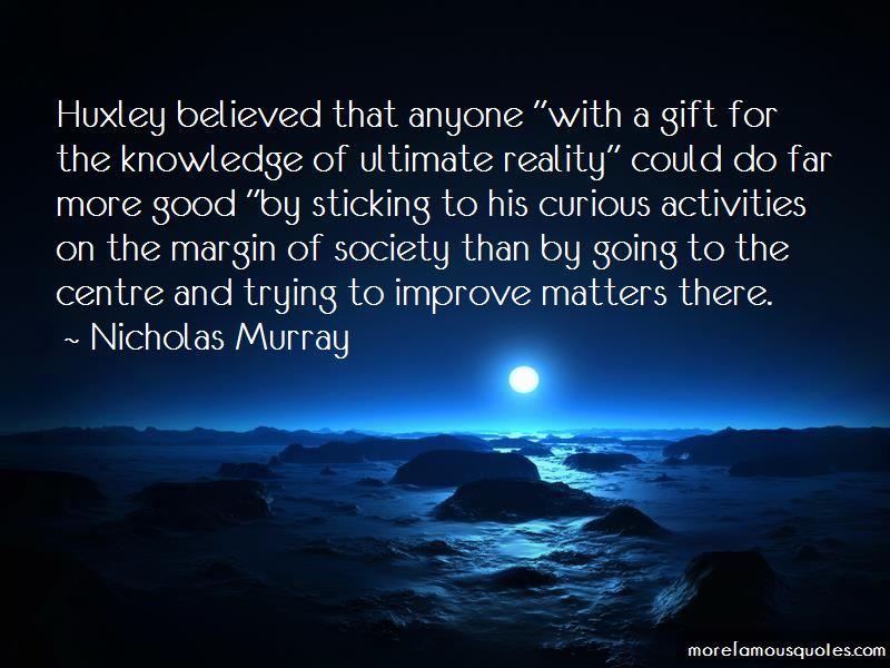 Nicholas Murray Quotes