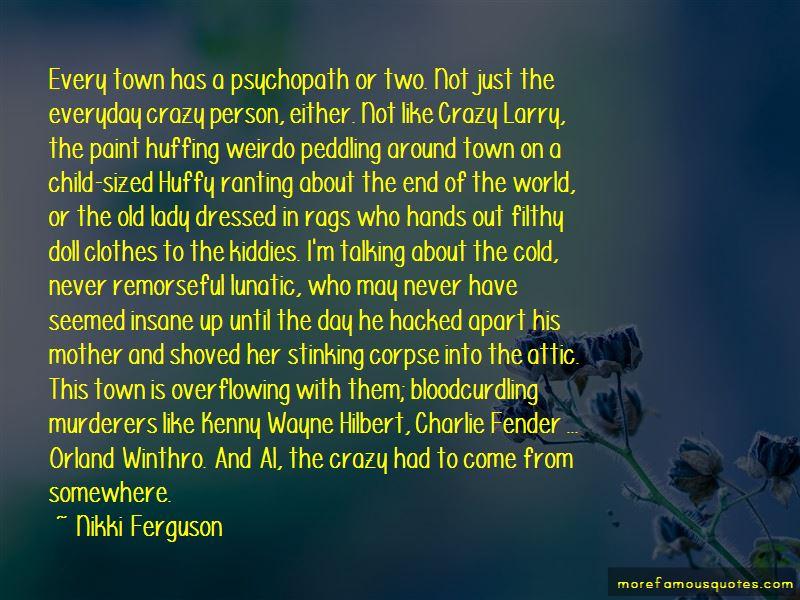 Nikki Ferguson Quotes