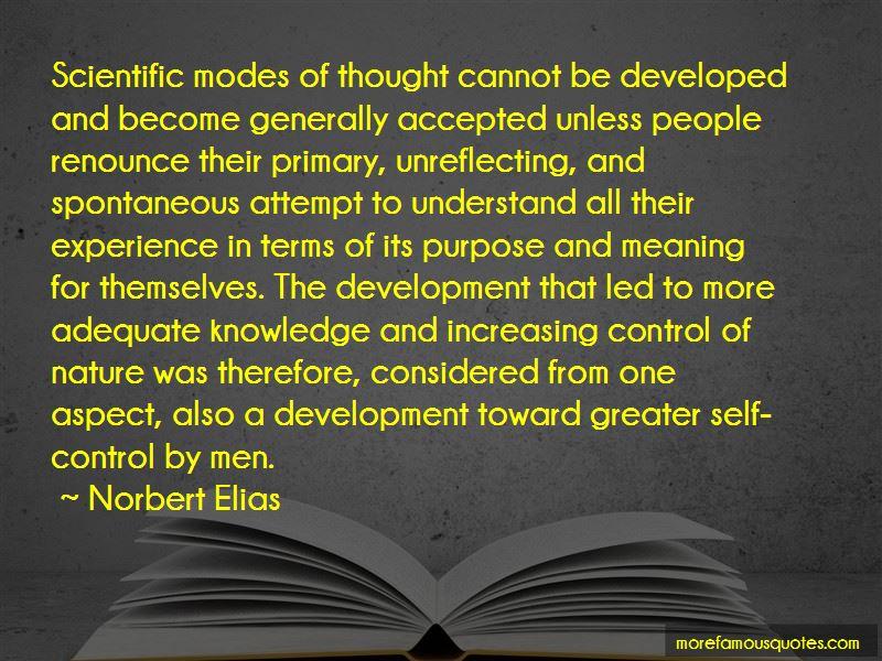 Norbert Elias Quotes