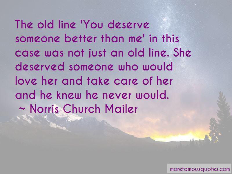 Norris Church Mailer Quotes Pictures 2
