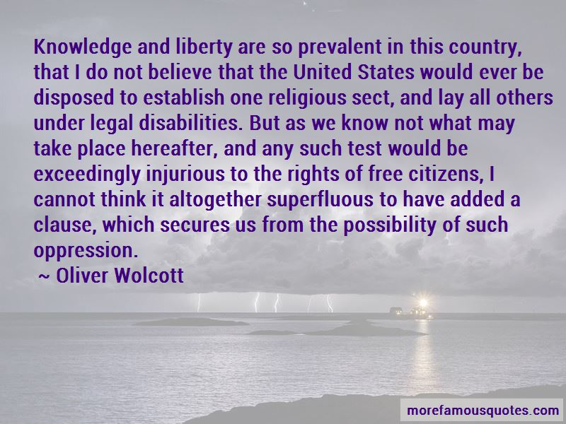 Oliver Wolcott Quotes Pictures 2