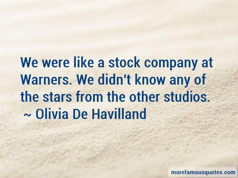 Olivia De Havilland Quotes Pictures 2