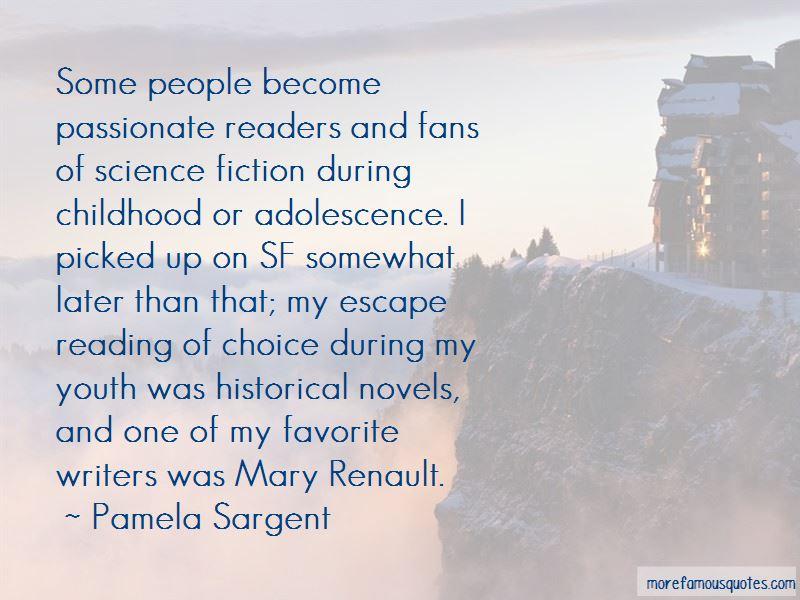 Pamela Sargent Quotes Pictures 2