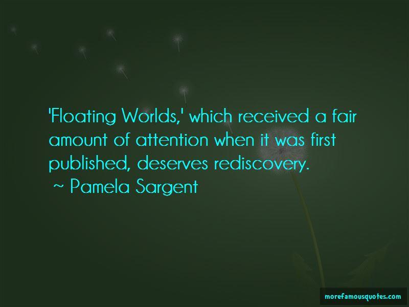Pamela Sargent Quotes Pictures 4