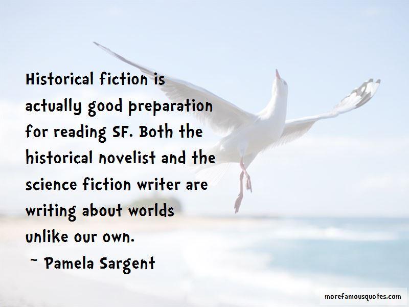 Pamela Sargent Quotes