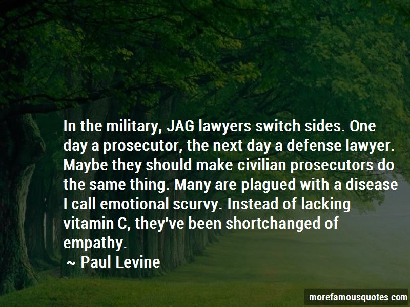 Paul Levine Quotes