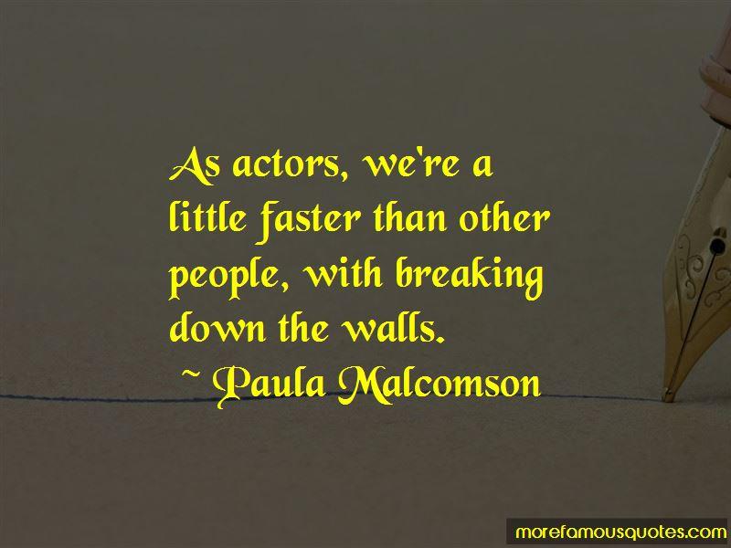 Paula Malcomson Quotes Pictures 2