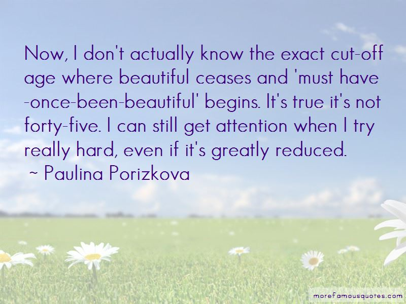Paulina Porizkova Quotes Pictures 2