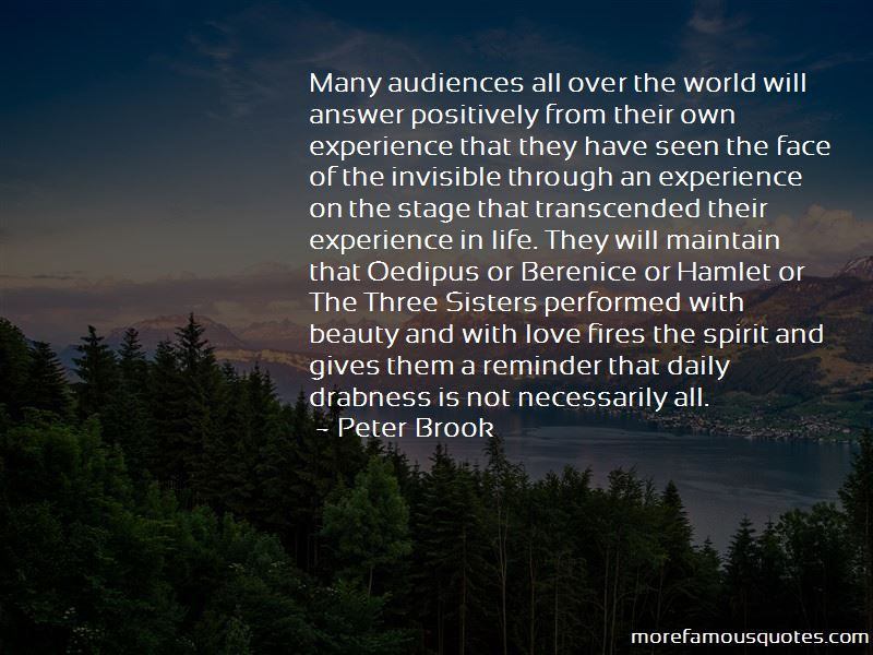 Peter Brook Quotes