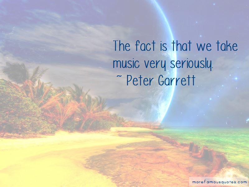 Peter Garrett Quotes Pictures 4