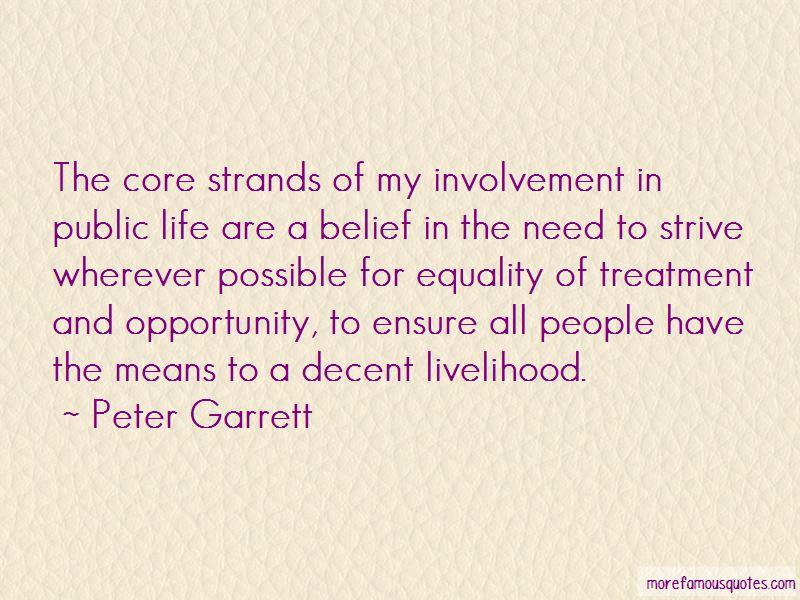 Peter Garrett Quotes