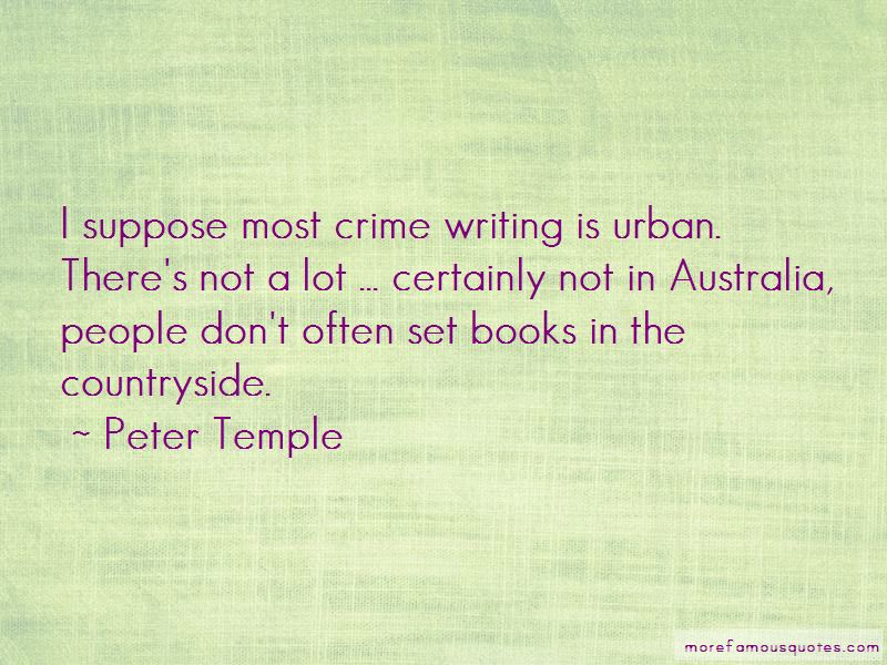 Peter Temple Quotes Pictures 3