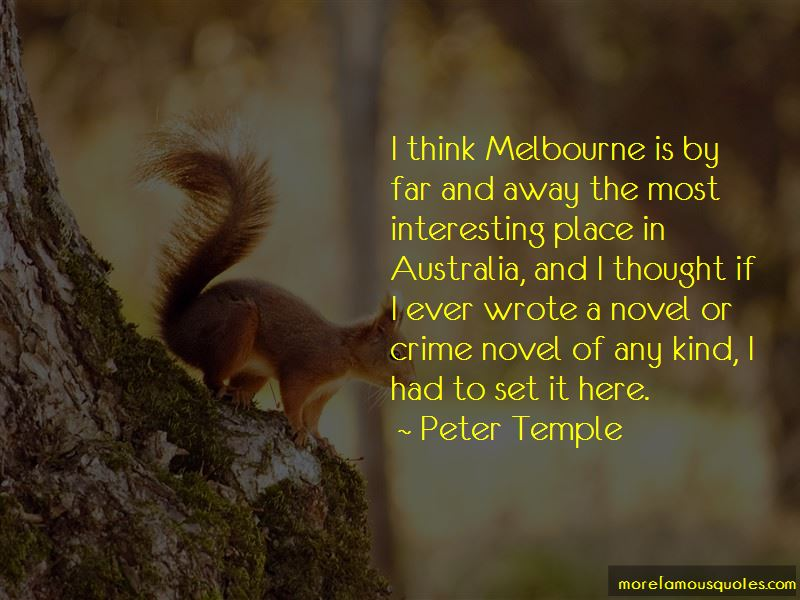Peter Temple Quotes Pictures 4