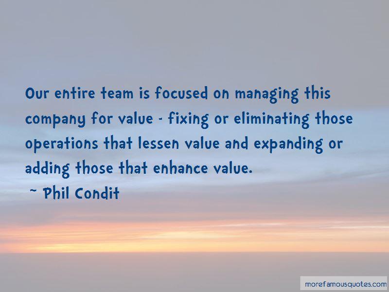 Phil Condit Quotes