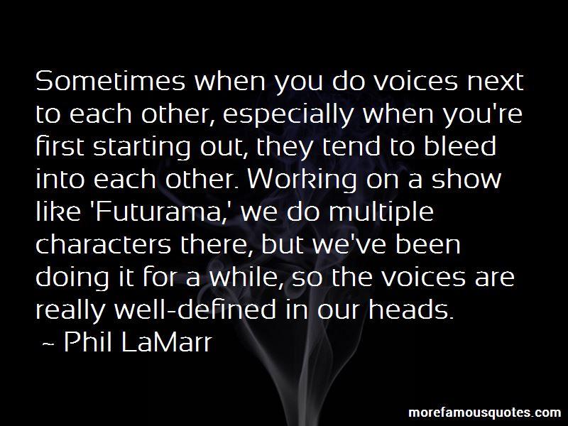 Phil LaMarr Quotes