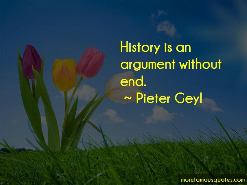 Pieter Geyl Quotes Pictures 2
