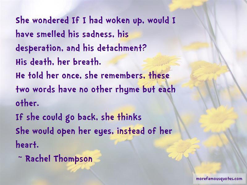 Rachel Thompson Quotes Pictures 2