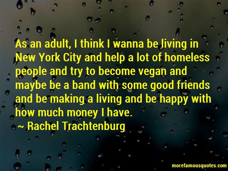 Rachel Trachtenburg Quotes