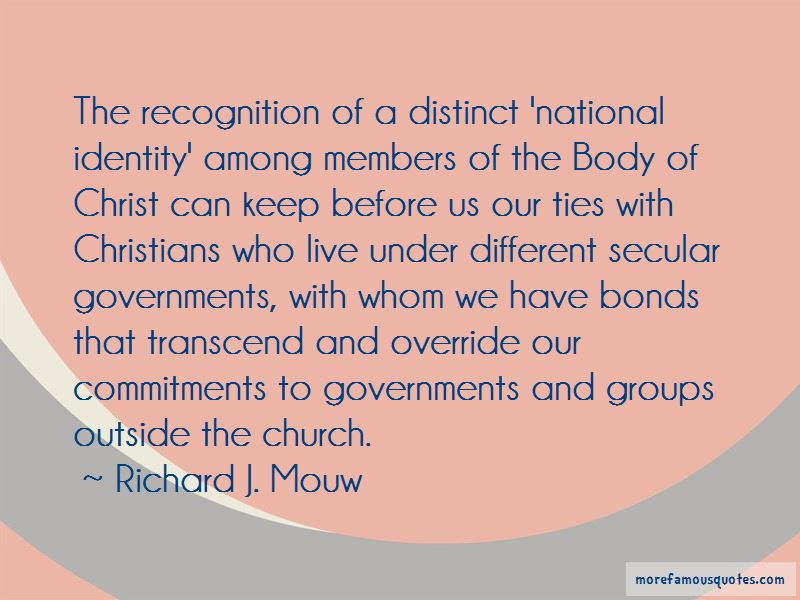 Richard J. Mouw Quotes Pictures 3