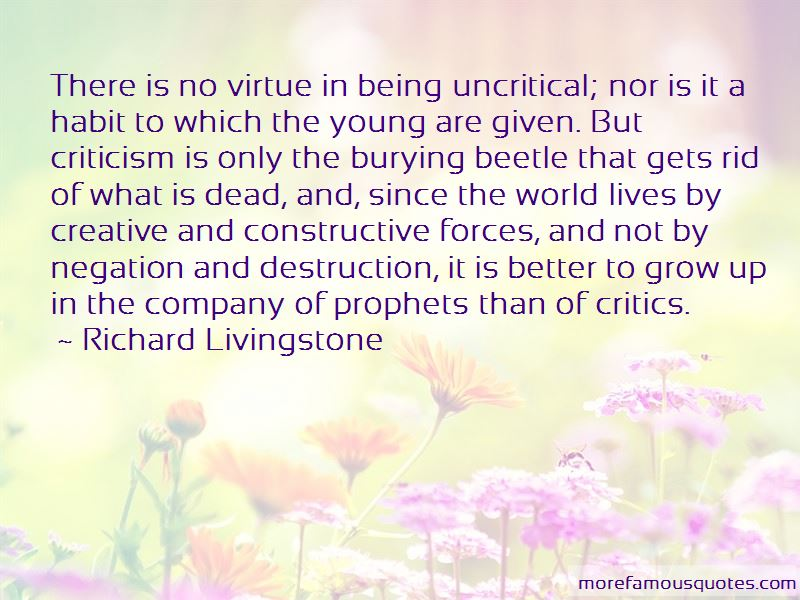Richard Livingstone Quotes Pictures 2