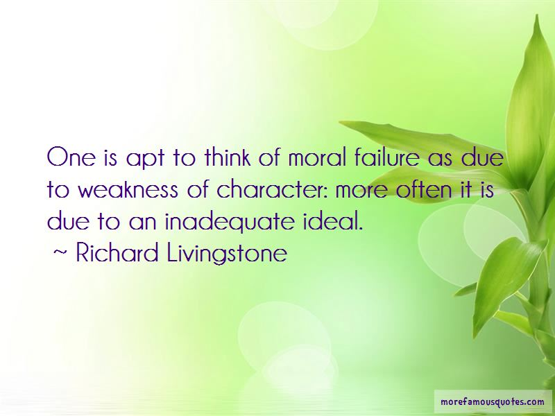 Richard Livingstone Quotes Pictures 4