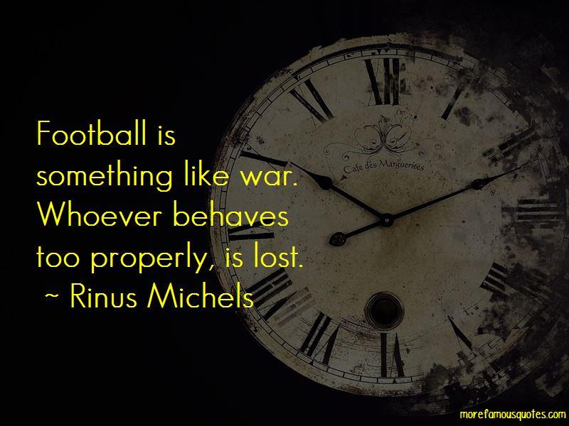 Rinus Michels Quotes