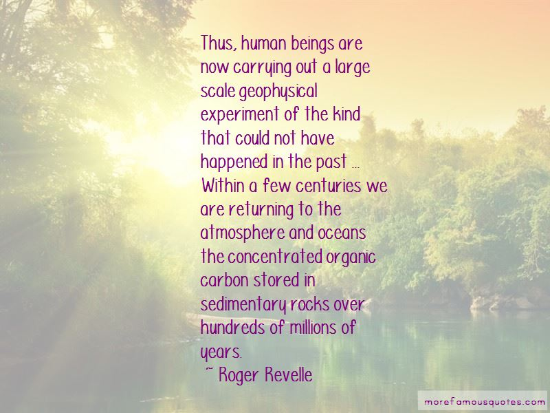 Roger Revelle Quotes Pictures 2