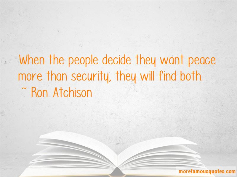 Ron Atchison Quotes Pictures 4