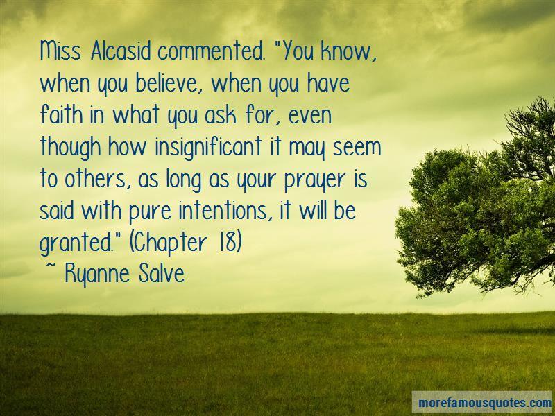 Ryanne Salve Quotes