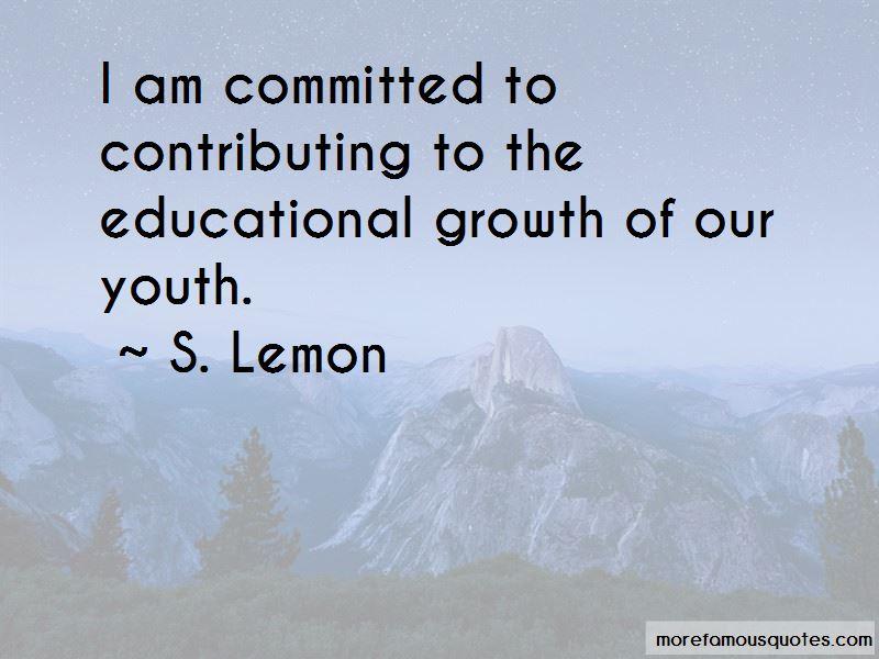S. Lemon Quotes