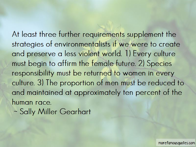 Sally Miller Gearhart Quotes Pictures 3