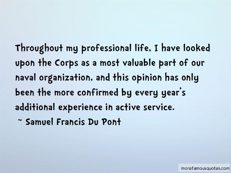 Samuel Francis Du Pont Quotes