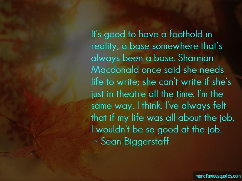 Sean Biggerstaff Quotes Pictures 4