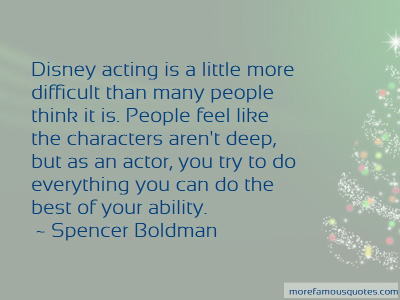 Spencer Boldman Quotes Pictures 2