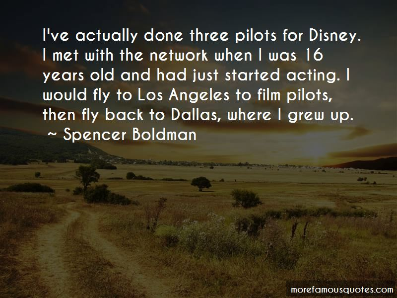 Spencer Boldman Quotes Pictures 3