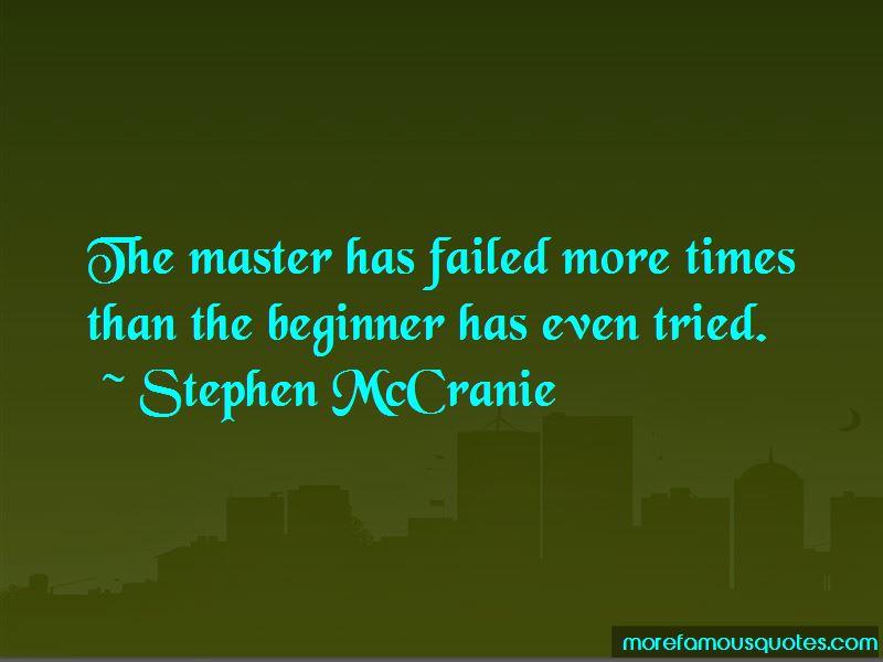 Stephen McCranie Quotes