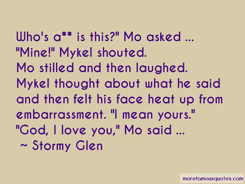 Stormy Glen Quotes